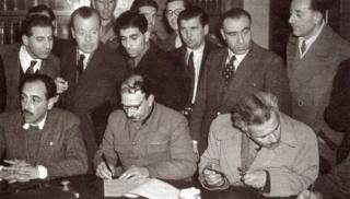 Βάρκιζα υπογραφή