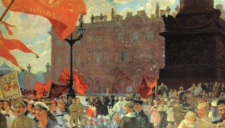 Kustodiev Congress of Comintern